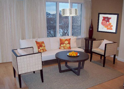 Take center stage model apartments for Model apartments